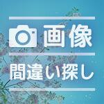 春の脳トレ間違い探しゲームプリント19(無料)