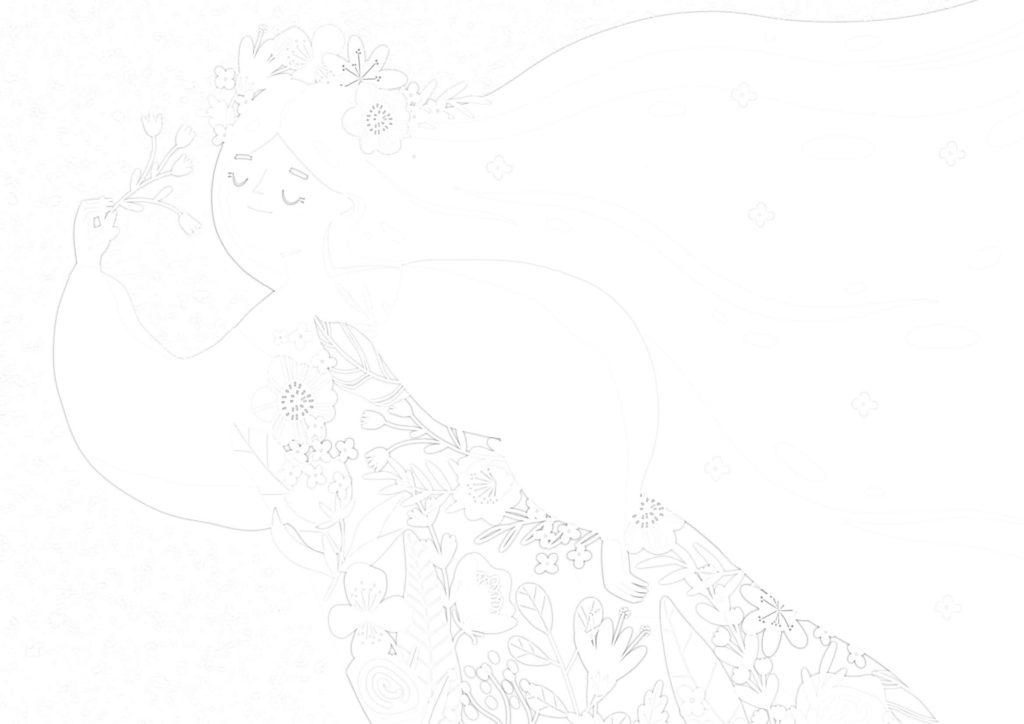 大人の描き塗り絵02_無料プリント